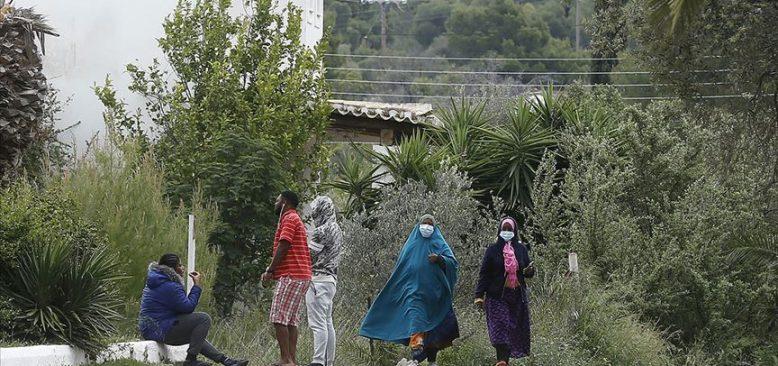 Sığınmacıların Yerleştirileceği Otele Saldırı