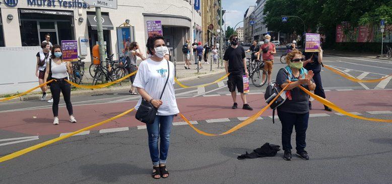 Sosyal adaletsizlik ve ırkçılık protesto edildi