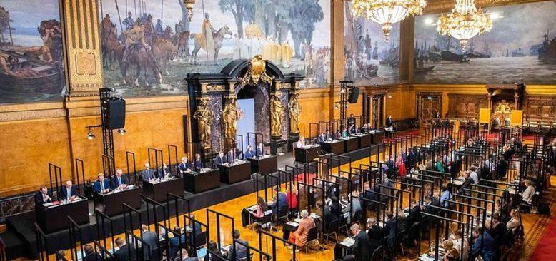 Hamburg Eyalet Başbakanı ve Hükümet üyeleri seçildi