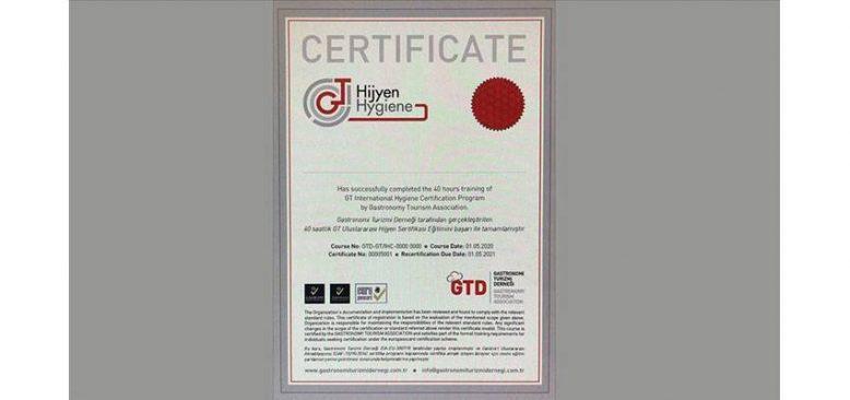 Salgın sonrası restoran ve kafelere 'hijyen' sertifikası