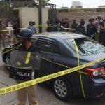 Pakistan Borsa Binasına Silahlı Saldırı