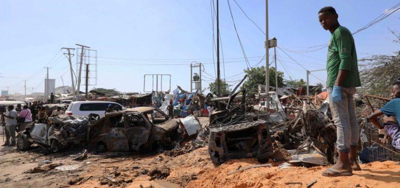 Somali'de İki Ayrı Bombalı Saldırı