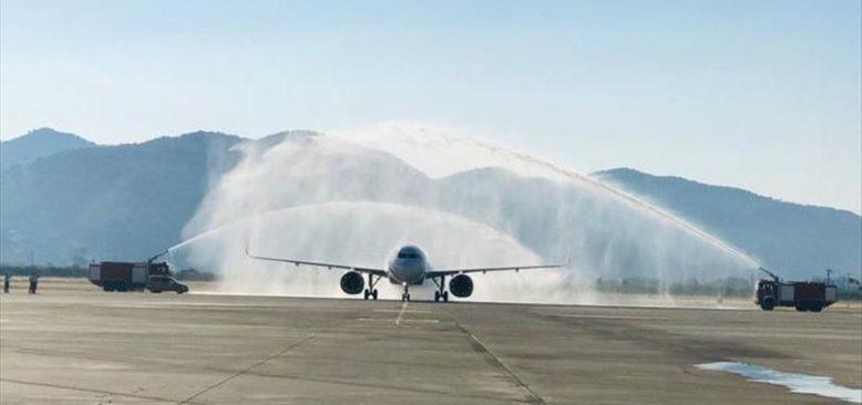 Almanya'dan gelen ilk uçak