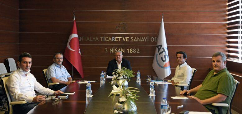 Antalya iş dünyasından meslek lisesine destek