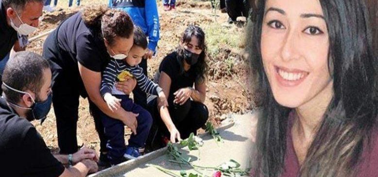 Şiddet kurbanı kadın toprağa verildi