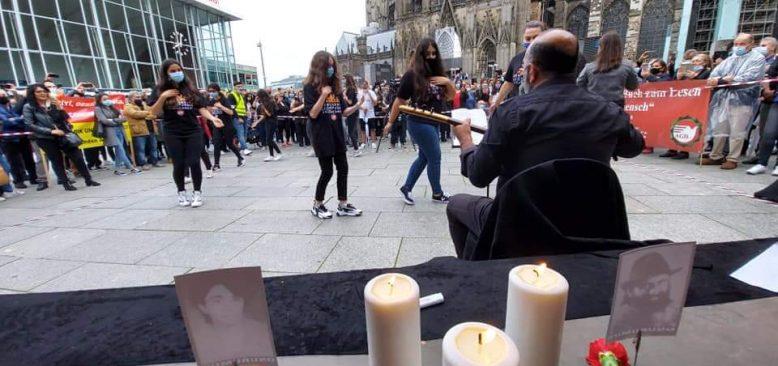 Köln'de ateşe semah dönenlerin aşkına