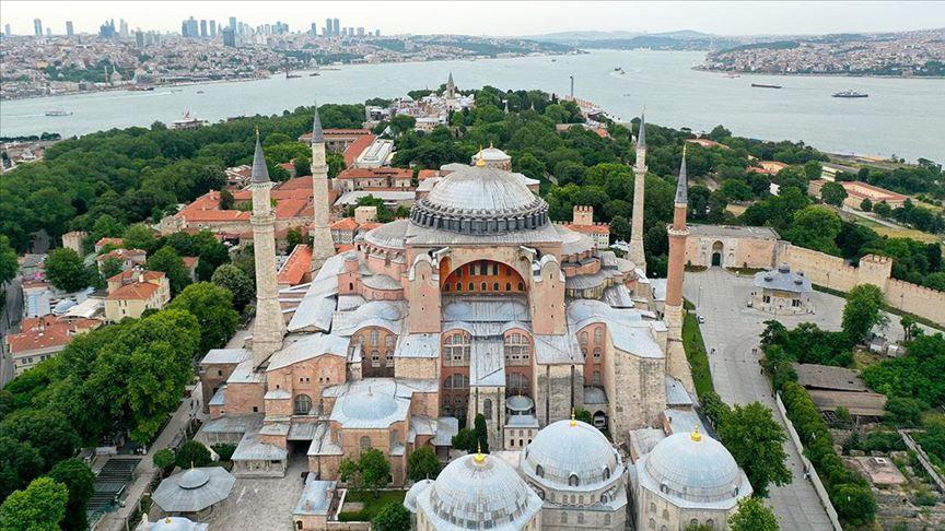 Ayasofya tepkisi: Türkiye-AB müzakereleri sonlandırılsın