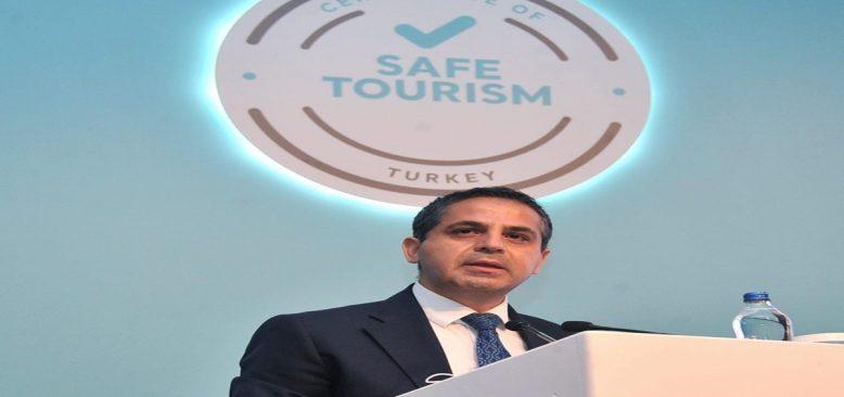 Antalya'da 281 turizm işletmesi ''Güvenli Turizm' belgesi aldı