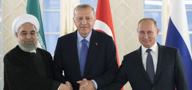 Erdoğan Putin ve Ruhani Video Konferansla Suriye'yi Konuşacak