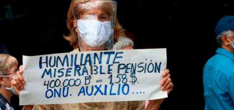 """Venezuelalı Emekliler: """"Yaşamamız Bile Mucize"""""""