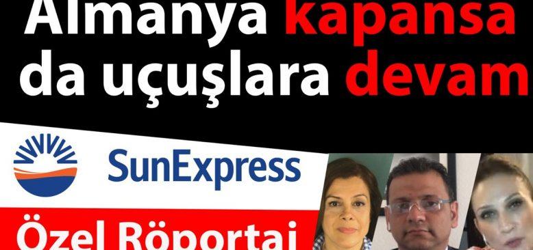 """Sun Express Yetkilisi Hakan Ortatepe: """"Hiçbir yolcumuzu mağdur etmeyeceğiz"""""""