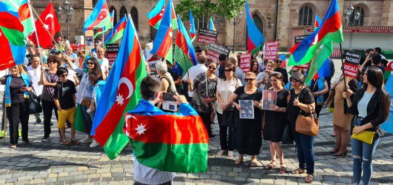 Ermenistan Nürnberg'de protesto edildi