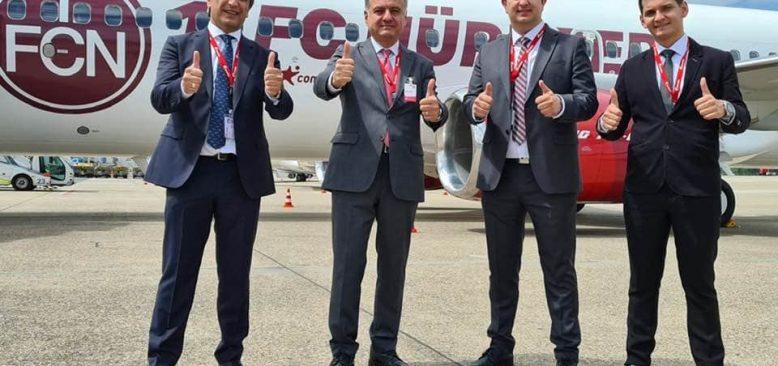 Corendon Havayolları, Alman 1.FC Nürnberg takımına sponsor oldu