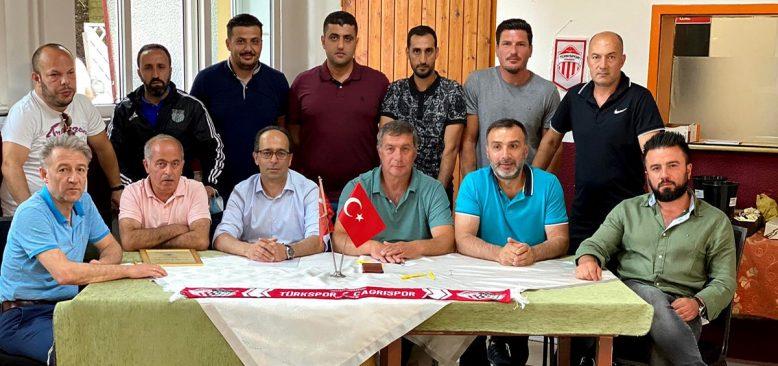 Seyhan Karaaslan Nürnberg Türkspor/Çağrıspor'un yeni başkanı