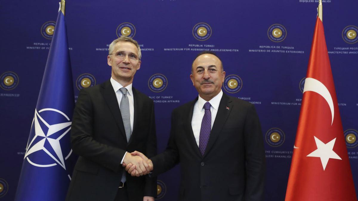 Çavuşoğlu NATO Genel Sekreteriyle Doğu Akdeniz ve Libya'yı Görüştü