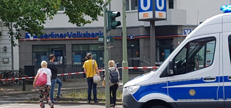 Berlin'de Silahlı Banka Soygunu