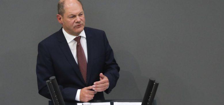 Almanya Maliye Bakanı Scholz SPD'nin Başbakan Adayı