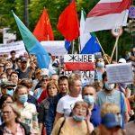 Belarus'ta Gösteriler Yedinci Gününde