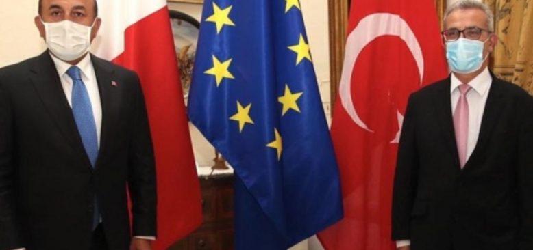 Dışişleri Bakanı Çavuşoğlu Malta Dışişleri Bakanıyla Birlikte Libya'da