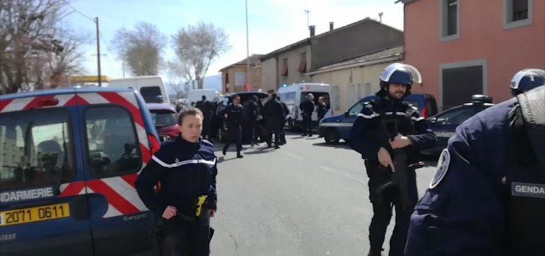 """Fransa'da Rehine Olayı: """"Zanlı Polisin Takibindeydi"""""""