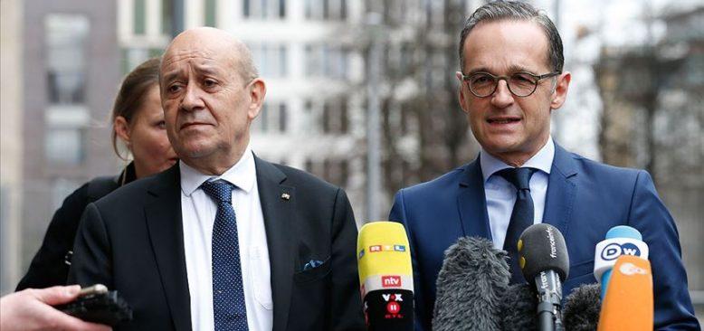Fransa ve Almanya'dan Türkiye ile diyalog mesajı