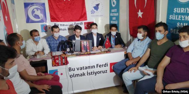 Türkiye'deki Suriyeli Türkmenler de Vatandaşlık İstiyor