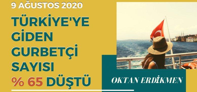 Türkiye'ye giden gurbetçi sayısı azaldı