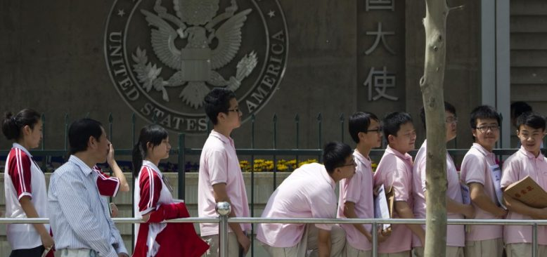 ABD'nin Öğrenci Vizelerini İptaline Çin'den Tepki