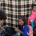 Midilli'de Mültecilere Polis Gazla Müdahale Etti