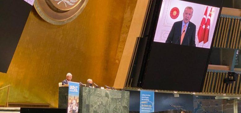 Erdoğan BM'yi  Hem Kutladı Hem Eleştirdi