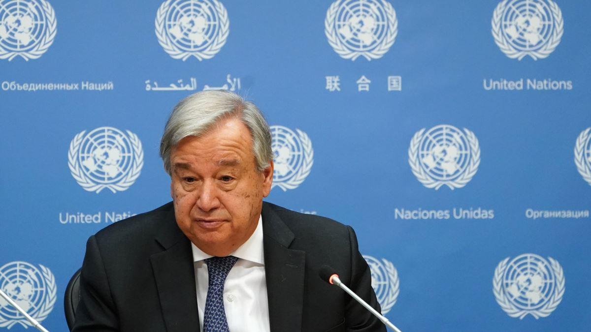 Guterres İran İçin Güvenlik Konseyi'nden İşaret Bekliyor