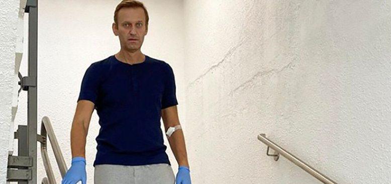Zehirlenen Rus Muhalif Siyasetçi Navalny Taburcu Oldu