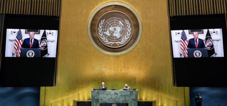 Trump BM'ye Hitabında Çin'i Hedef Aldı
