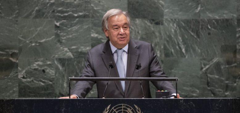 Guterres'ten Dünyaya Küresel Ateşkes Çağrısı