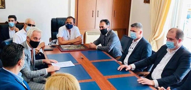Trakya Kalkınma Komisyonu Başkanı Bakoyanni Batı Trakya'yı ziyaret etti