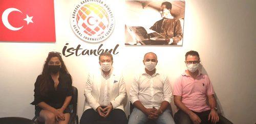 KGK İstanbul Ofisi küresel medyanın buluşma noktası