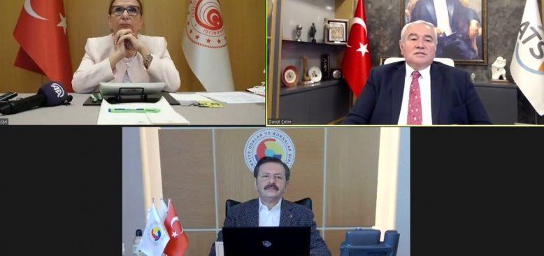 TOBB Başkanı Hisarcıklıoğlu: Antalya dört dörtlük şehir