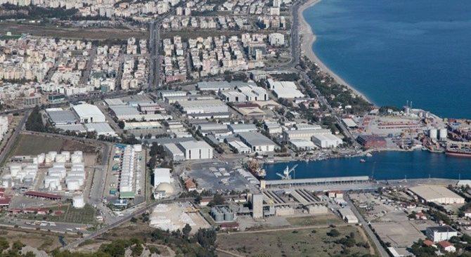 Antalya'da satılık fabrikalar