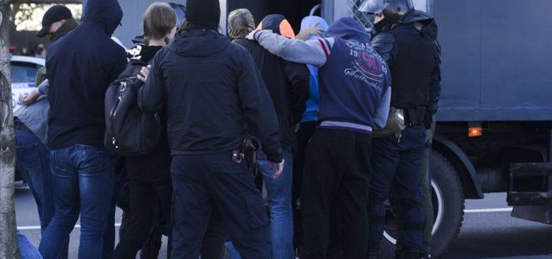 Belarus'taki protestolarda 442 kişi gözaltına alındı