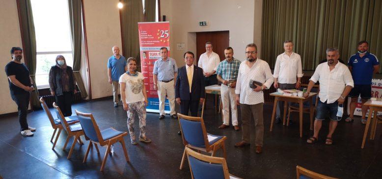 Rhein-Ruhr Türk Toplumu Mustafa Okur ile güven tazeledi