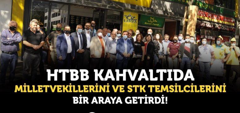 HTBB Kahvaltıda, Milletvekillerini ve STK Temsilcilerini Bir Araya Getirdi