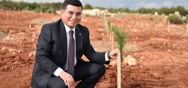 Antalya'da tarımsal üretim amaçlı Orman Çiftliği kuruluyor
