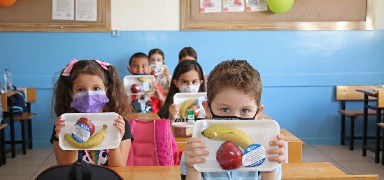 Antalya Büyükşehir Belediyesi 81 ilde 81 okula muz gönderdi