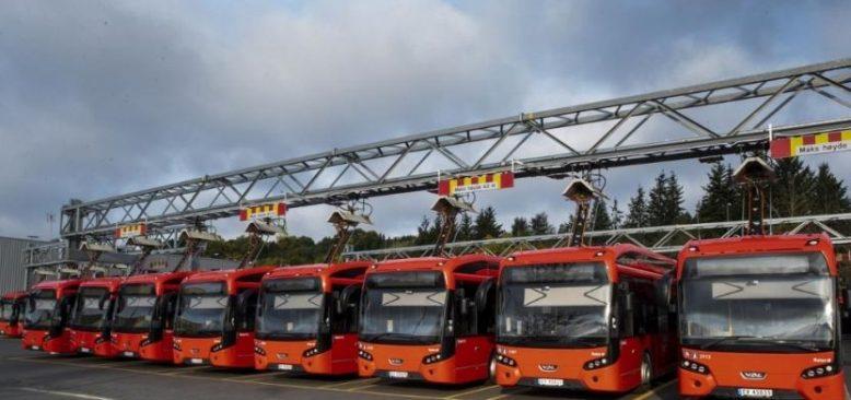 Norveç'te 3 bin 800 otobüs şoförü greve çıktı