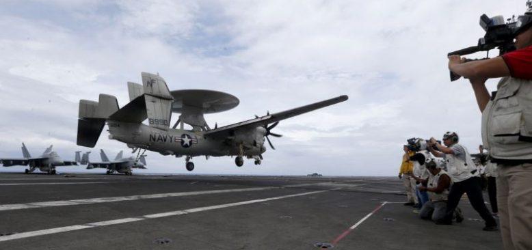 ''ABD Çin Açıklarında Askeri Uçuşlarını Attırdı''