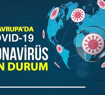 1 Aralık 2020 Avrupa ülkeleri koronavirüs vaka ve ölü sayısı