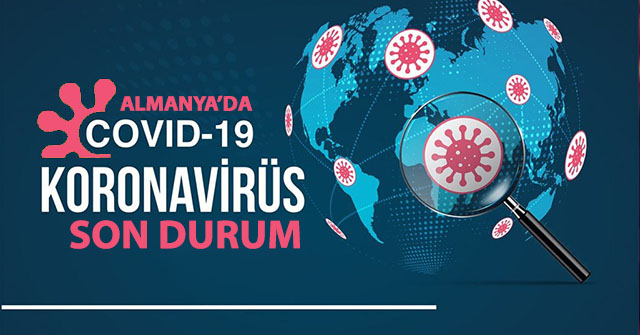 Almanya'da bugün koronavirüs vaka sayısı 14.964