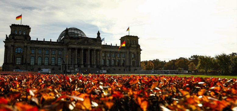 Berlin`de Sonbahar