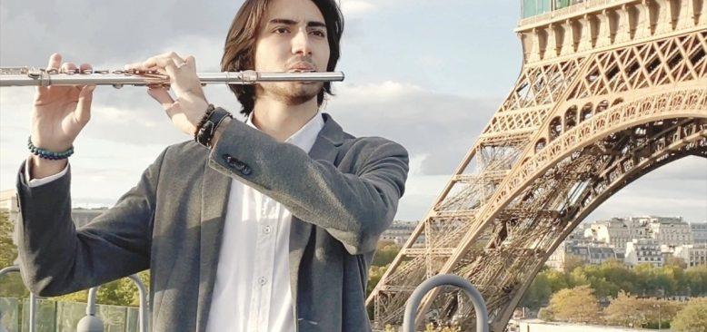 Paris'te yaşayan sanatçı Gouliyev, Azerbaycan'a destek için beste yaptı