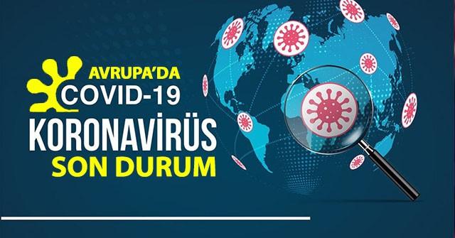 19 Ekim 2020 Avrupa ülkeleri koronavirüs vaka ve ölü sayısı